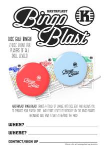 Bingo Blast poster ENGLISH